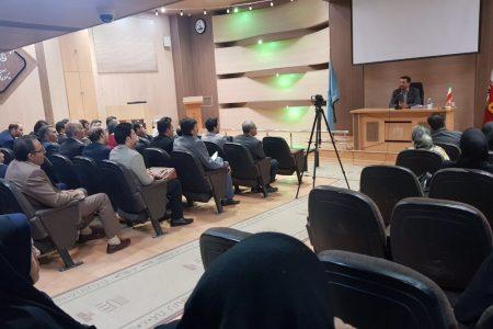 دوره آموزشی با موضوع کلاهبرداری با حضور دکتر اسداله مسعودی مقام