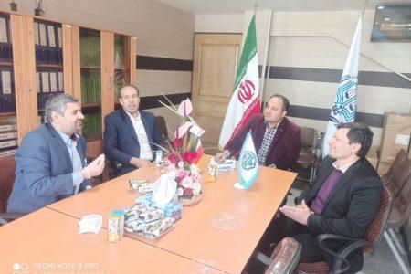 دیدار سازمان بسیج حقوقدانان با ریاست محترم مرکز